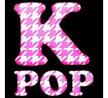 KPOP - PINK HOUNDSTOOTH Photographic Print
