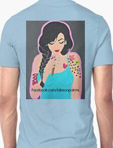 Lakeon Paints tattooed painter girl Unisex T-Shirt