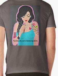 Lakeon Paints tattooed painter girl Mens V-Neck T-Shirt