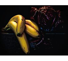 The Fruit and Mysterious Veggie Photographic Print