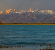 The Sangre De Cristos from San Luis Lakes by Paul Gana
