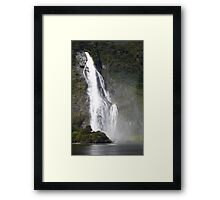 In the Hall of the Mountain King- The Falls Framed Print