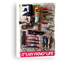 it's my fkng life 2 Canvas Print