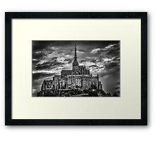 France Mont St Michel Framed Print