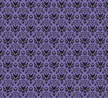 Haunted Mansion Wallpaper (Tile) by wyckedguitarist
