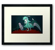 Darkstalkers Morrigan Framed Print