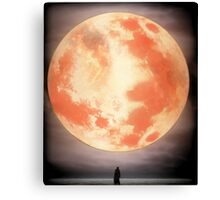 Bloodborne Moon Canvas Print