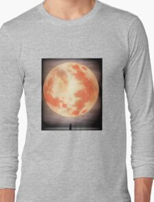 Bloodborne Moon Long Sleeve T-Shirt