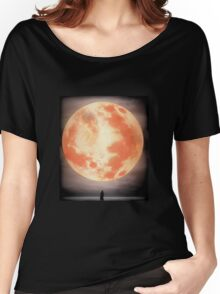 Bloodborne Moon Women's Relaxed Fit T-Shirt