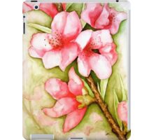 Peach Flower Watercolor iPhone Case iPad Case/Skin