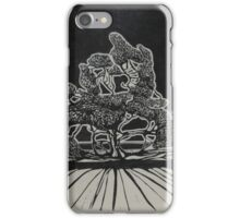 Giant Gum at the gate to Prairie Home iPhone Case/Skin