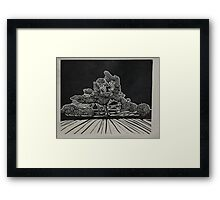 Giant Gum at the gate to Prairie Home Framed Print