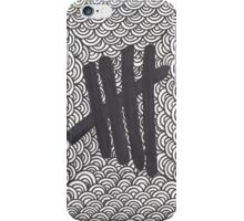 Tally Marks (Black) iPhone Case/Skin