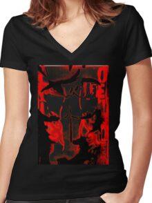 jonny Women's Fitted V-Neck T-Shirt