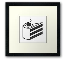 Portal - The Cake Is a Lie Framed Print