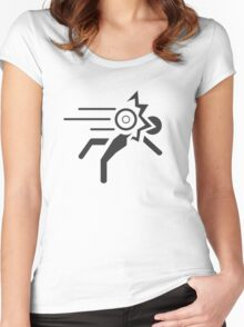 Portal - No Hard Feelings Women's Fitted Scoop T-Shirt
