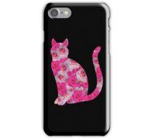 Rose Cat~~~ iPhone Case/Skin