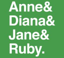 Anne & Diana & Jane & Ruby. Kids Clothes