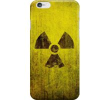 Rusted Radioactive Symbol iPhone Case/Skin