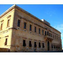 Il-Baviera - Valletta Photographic Print