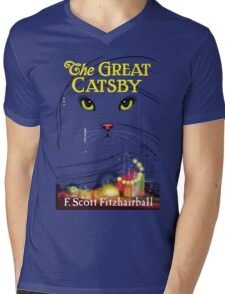 The Great Catsby Mens V-Neck T-Shirt