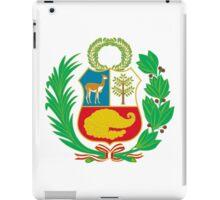 Peru Flag iPad Case/Skin