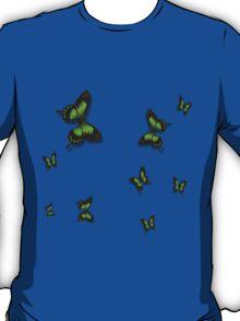 Green Butterflies T-Shirt