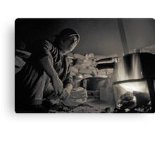 Nomad Girl Canvas Print