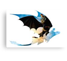 Toothless's Shadow Canvas Print