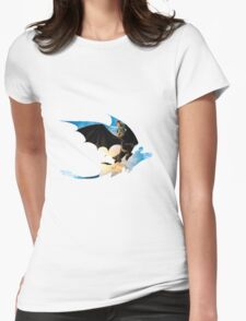 Toothless's Shadow Womens Fitted T-Shirt