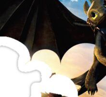 Toothless's Shadow Sticker