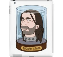 Eddard Stark in Color iPad Case/Skin