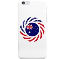 Australian American Multinational Patriot Flag Series iPhone Case/Skin