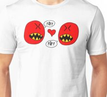circle monsters in love Unisex T-Shirt