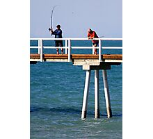 Fishing at Hervey Bay Photographic Print