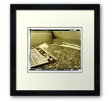 addiction 2 Framed Print