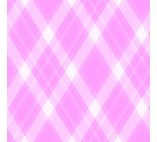 Pink Flannel Photographic Print
