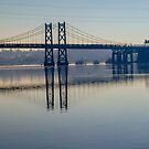 Bridge Over the Mississippi by Deb Fedeler