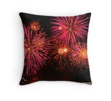 Pink Chrysathemum Throw Pillow