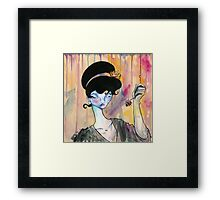 I See Right Through You Framed Print