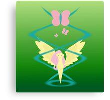 Magic Circle: Fluttershy Canvas Print