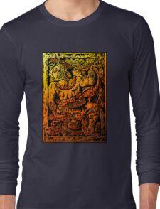 MESOAMERICAN MAYAN FIGURE Long Sleeve T-Shirt