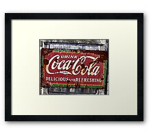 A Drink of the Times..timeless Framed Print