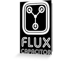 Flux Capacitor Greeting Card