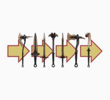 Skyrim - Dragonbone Weapons Kids Clothes