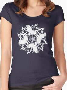 Steller Sea Lion ZOOFLAKE Women's Fitted Scoop T-Shirt