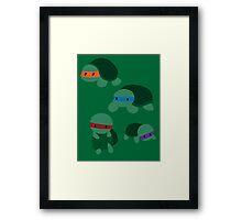 Tiny Mutant Ninja Turtles  Framed Print