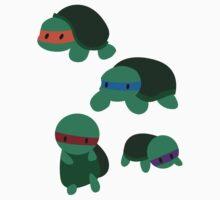 Tiny Mutant Ninja Turtles  Kids Tee