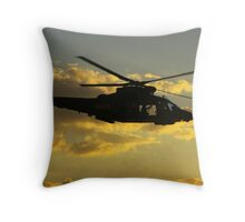 With the Clouds Throw Pillow
