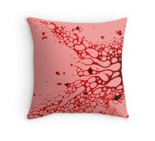 The Abstract of it All... Throw Pillow